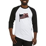 Flag waver and proud of it! Baseball Jersey