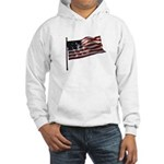 Flag waver and proud of it! Hooded Sweatshirt