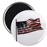 "Flag waver and proud of it! 2.25"" Magnet (10 pack)"