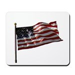 Flag waver and proud of it! Mousepad