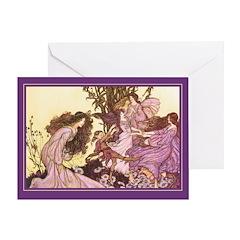 Dancing with Fairies - Birthday Card