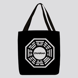 Lost Dharma Polyester Tote Bag