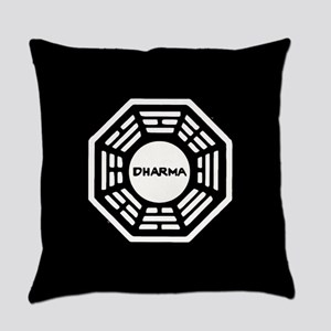 Lost Dharma Everyday Pillow