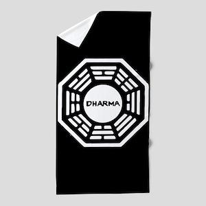 Lost Dharma Beach Towel
