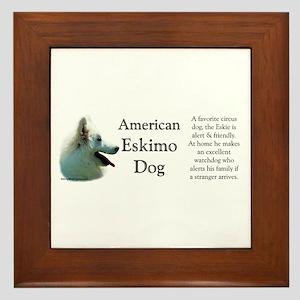 Eskimo Profile Framed Tile
