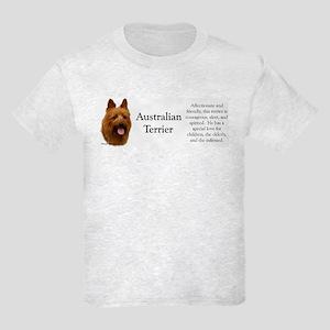 Aussie Terrier Profile Kids Light T-Shirt