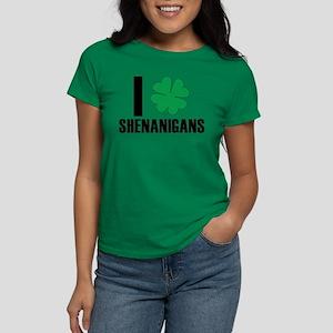 I Heart Shenanigans Women's Dark T-Shirt