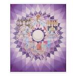 5th Chakra Mandala Poster