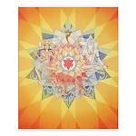 3rd Chakra Mandala Poster