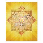 1st Chakra Mandala Poster