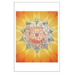 3rd Chakra Mandala Large Poster