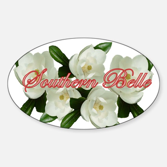 Southern Belle Oval Decal