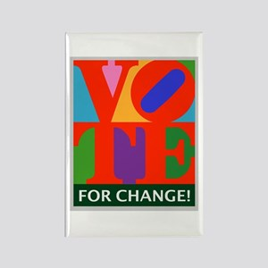 Vote for Change! Rectangle Magnet (10 pack)