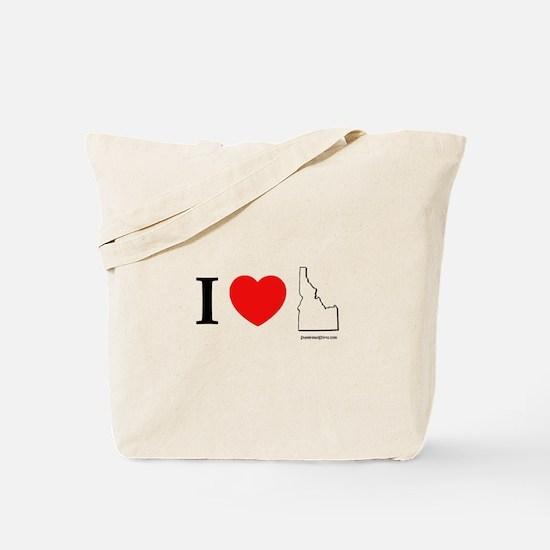 Cute Gem state Tote Bag