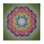 Seventh Chakra Tile