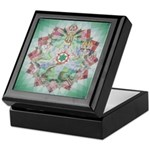 Fourth Chakra Tiled Box