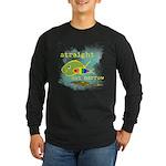 Straight But Not Narrow Long Sleeve Dark T-Shirt