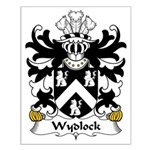 Wydlock Family Crest Small Poster