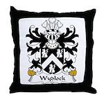 Wydlock Family Crest Throw Pillow