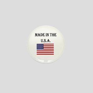 Made in the USA Mini Button