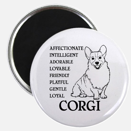 LOYAL CORGI Magnet