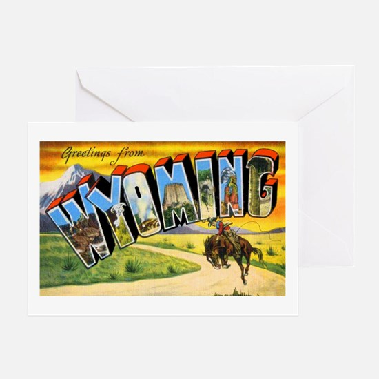 Wyoming Greetings Greeting Card