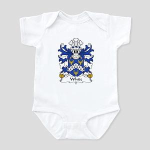White Family Crest Infant Bodysuit