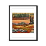 Polar Bear Art Framed Panel Print