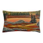 Polar Bear Art Pillow Case