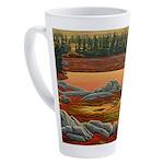 Polar Bear Art 17 oz Latte Mug