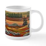 Polar Bear Art 20 oz Ceramic Mega Mug