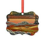Polar Bear Art Picture Ornament