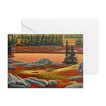 Polar Bear Art Greeting Cards (Pk of 10)