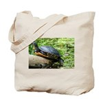 Redbelly Turtle Tote Bag
