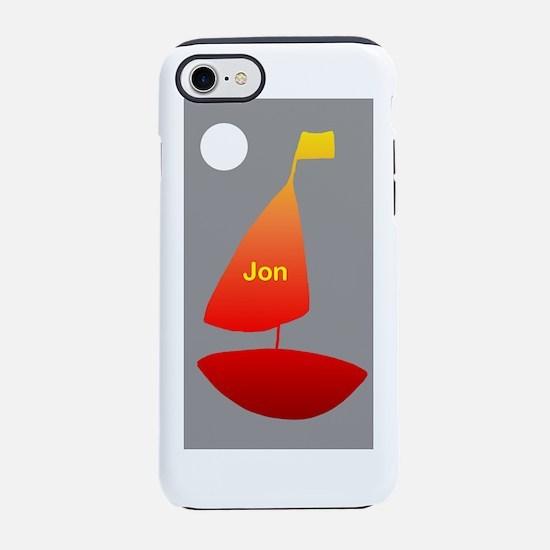 Sailing in Alaska 4Jon iPhone 8/7 Tough Case
