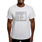 Naughty and Nice Light T-Shirt