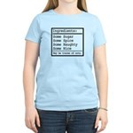 Naughty and Nice Women's Light T-Shirt