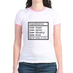 Naughty and Nice Jr. Ringer T-Shirt