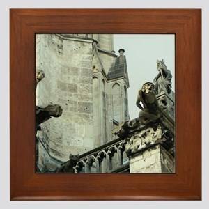 Gargoyles 2 Framed Tile