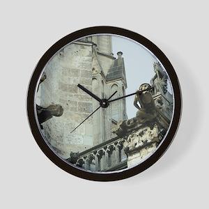 Gargoyles 2 Wall Clock