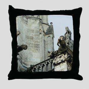 Gargoyles 2 Throw Pillow