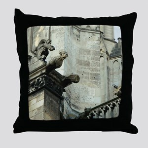 Gargoyles 1 Throw Pillow