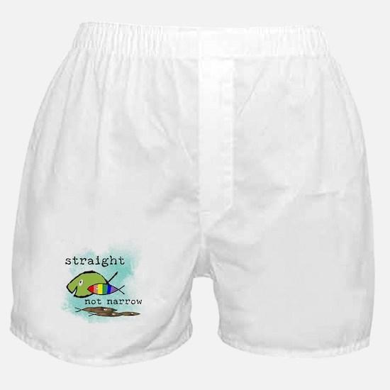 Straight But Not Narrow Boxer Shorts