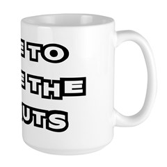 Make The Donuts Large Mug