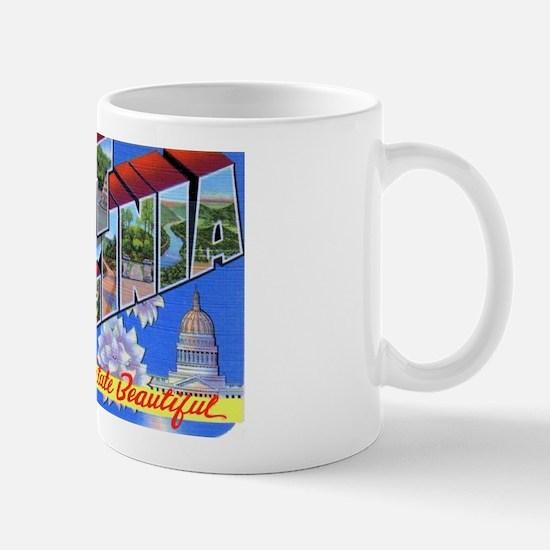 West Virginia Greetings Mug