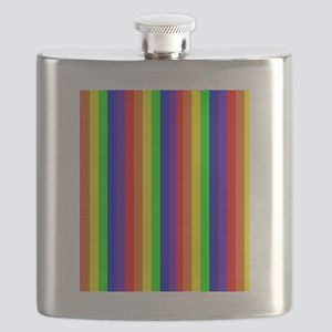Rainbow Stripes Bryan's Fave Flask