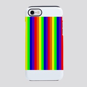 Rainbow Stripes Bryan's iPhone 8/7 Tough Case