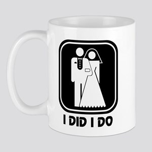 I Did I Do: Newlywed Mug