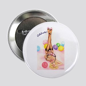 """Party Doll """"Celebrate"""" 2.25"""" Button (10 pack)"""