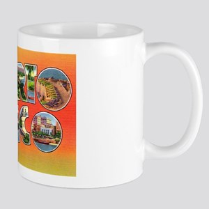 Puerto Rico Greetings Mug